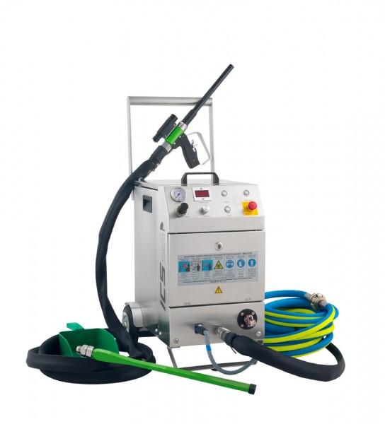 Trockeneis-Strahlanlage IC-110E Plus Elektrisch Einschlauch